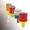 solar traffic cone warning lights