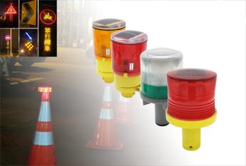 Solar Roadway Safety lights