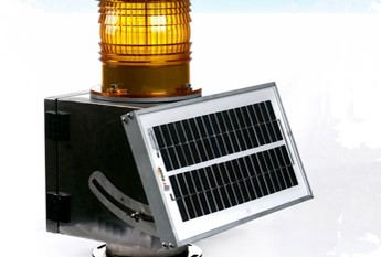 Solar runway edge light